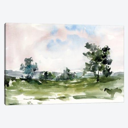 Mauve Sunset II Canvas Print #EHA983} by Ethan Harper Canvas Art Print