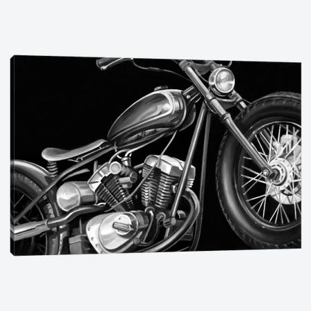 Vintage Motorcycle I Canvas Print #EHA98} by Ethan Harper Canvas Art