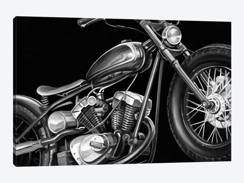 Vintage Motorcycle I by Ethan Harper 1-piece Art Print