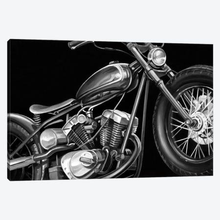 Vintage Motorcycle I Canvas Print #EHA98} by Ethan Harper Canvas Art