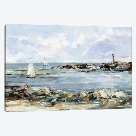 Rocky Shore Coastline II Canvas Print #EHA996} by Ethan Harper Art Print