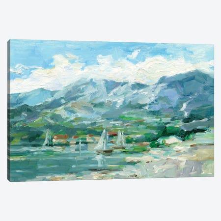 Sailing Along The Coast I Canvas Print #EHA999} by Ethan Harper Canvas Art