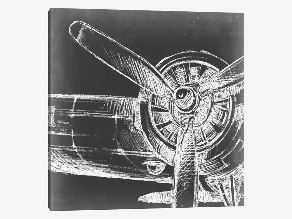 Aeronautic Collection V 1-piece Canvas Wall Art