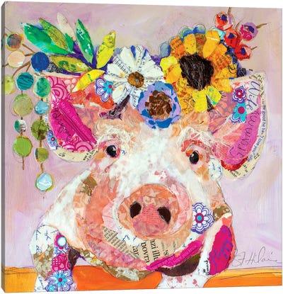 Miss Piggy Canvas Art Print
