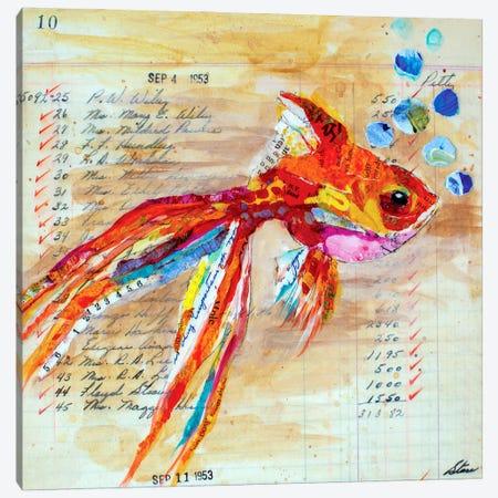 No 10 Canvas Print #EHL7} by Elizabeth Hilaire Canvas Wall Art