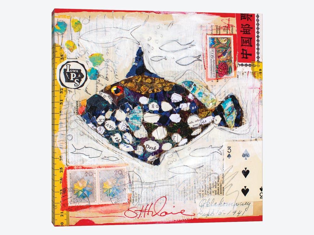 Clown Fish by Elizabeth Hilaire 1-piece Canvas Art