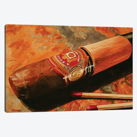 Fuente Evening Canvas Print #EIC12} by Eric Renner Canvas Print