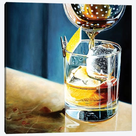 Happy Hour Canvas Print #EIC15} by Eric Renner Canvas Art