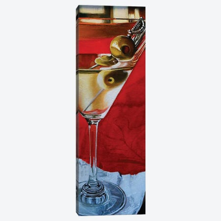 Martini With Olives Canvas Print #EIC33} by Eric Renner Canvas Print