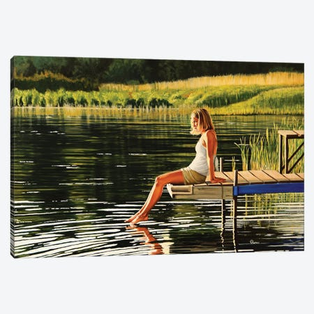 Summers Beauty Canvas Print #EIC36} by Eric Renner Canvas Artwork