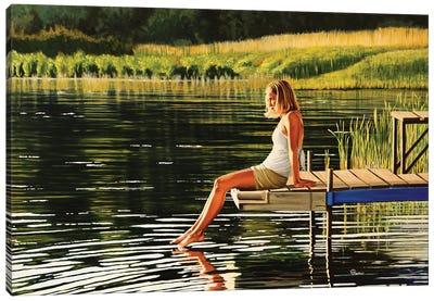Summers Beauty Canvas Art Print