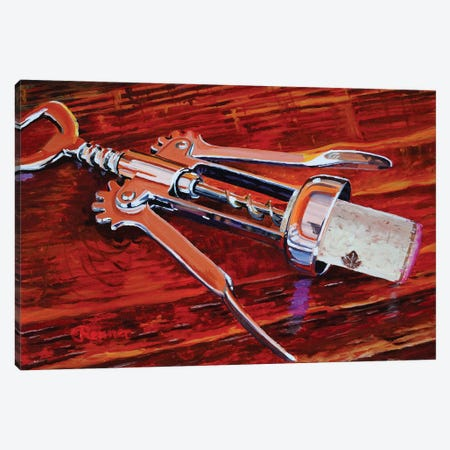 Silver Corkscrew Canvas Print #EIC38} by Eric Renner Canvas Art Print