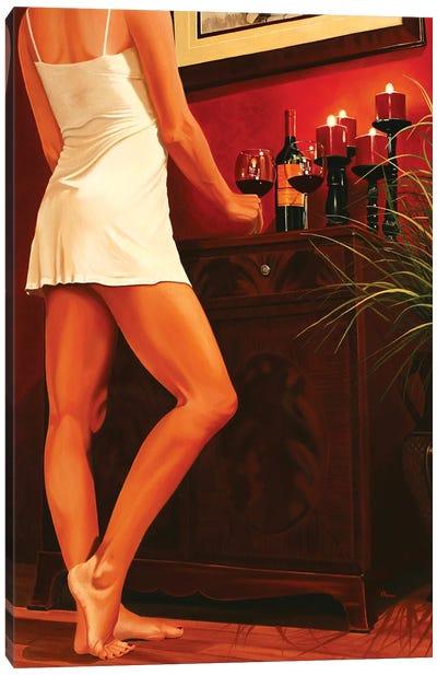 An Evening In Canvas Art Print