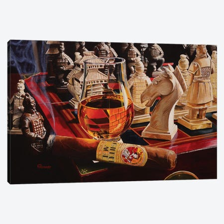 Checkmate Canvas Print #EIC4} by Eric Renner Canvas Artwork
