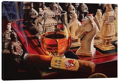 Checkmate Canvas Art Print