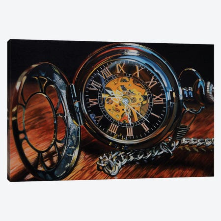 It'S About Time Canvas Print #EIC6} by Eric Renner Canvas Wall Art