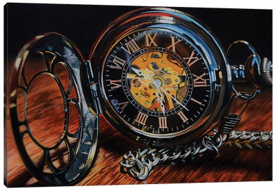 It'S About Time Canvas Art Print