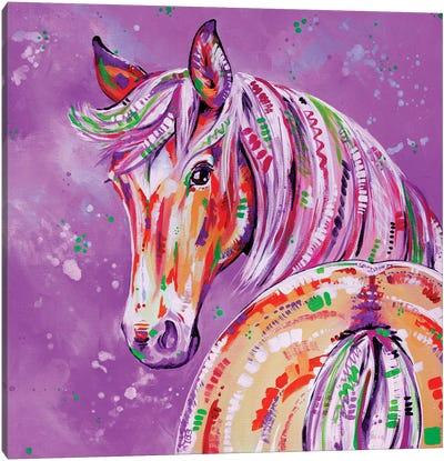 Cinnamon In Pink Canvas Art Print