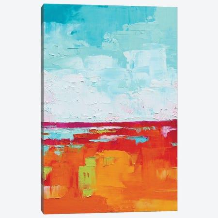 Abstract Landscape I Canvas Print #EIZ2} by Eve Izzett Canvas Print
