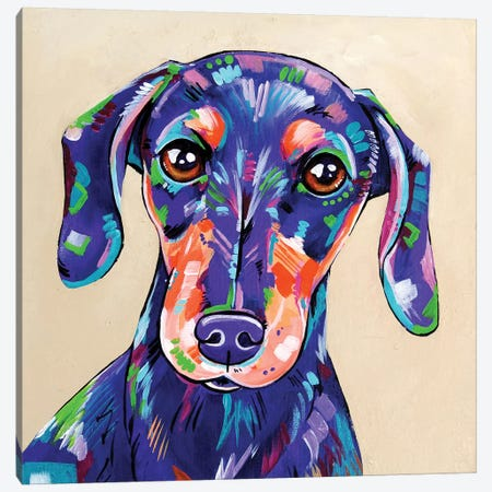 Peanut Canvas Print #EIZ33} by Eve Izzett Canvas Artwork