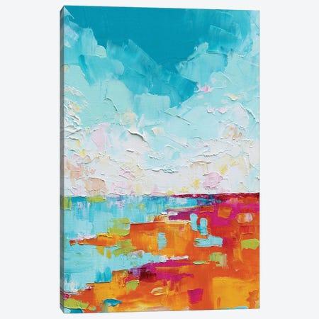 Abstract Landscape II Canvas Print #EIZ3} by Eve Izzett Art Print