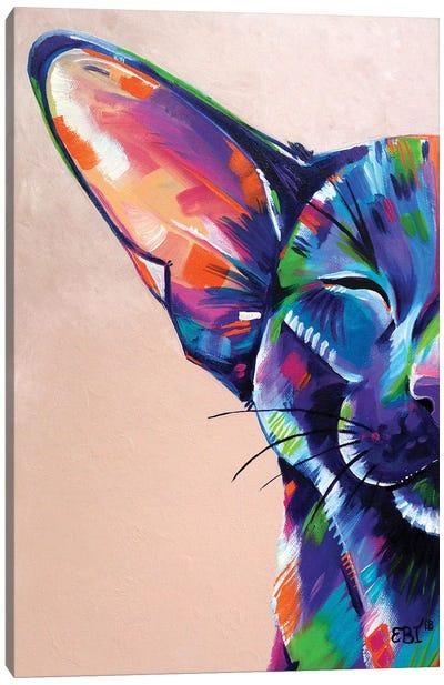 Subathing Canvas Art Print