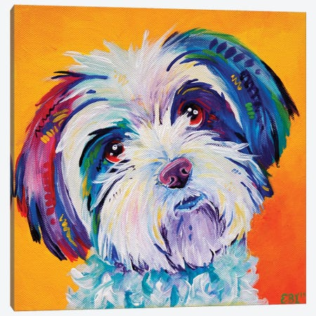 Ted Canvas Print #EIZ44} by Eve Izzett Canvas Artwork