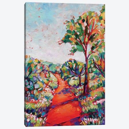 The Track Canvas Print #EIZ45} by Eve Izzett Canvas Wall Art