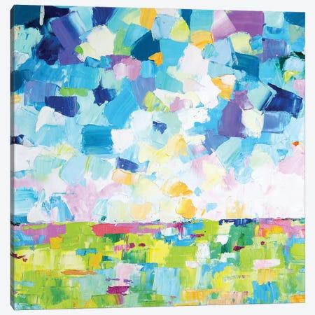 Abstract Landscape III Canvas Print #EIZ4} by Eve Izzett Canvas Artwork
