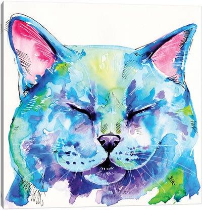 Fat Cat Canvas Art Print