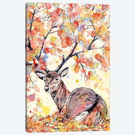 Amber Canvas Print #EIZ52} by Eve Izzett Canvas Wall Art
