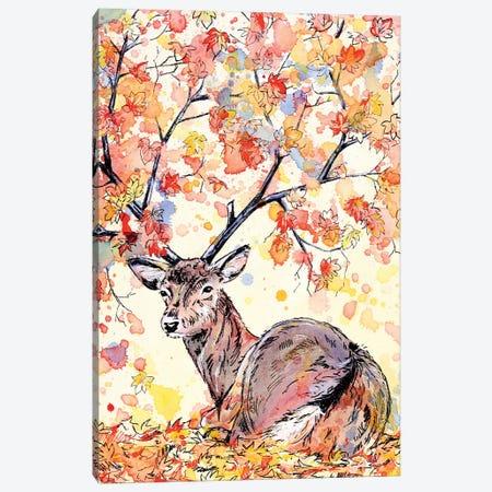Amber Canvas Print #EIZ52} by Eve Izzett Canvas Wall Art