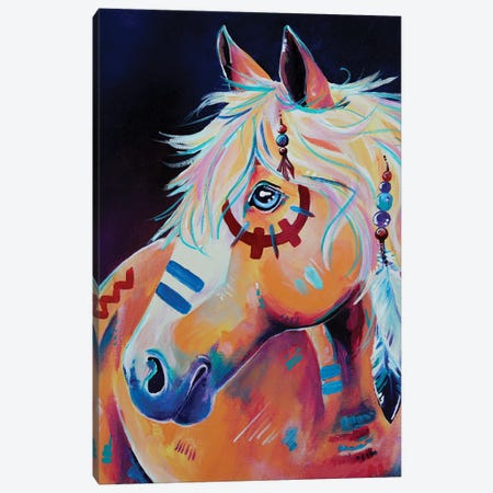 Apache Canvas Print #EIZ5} by Eve Izzett Canvas Art