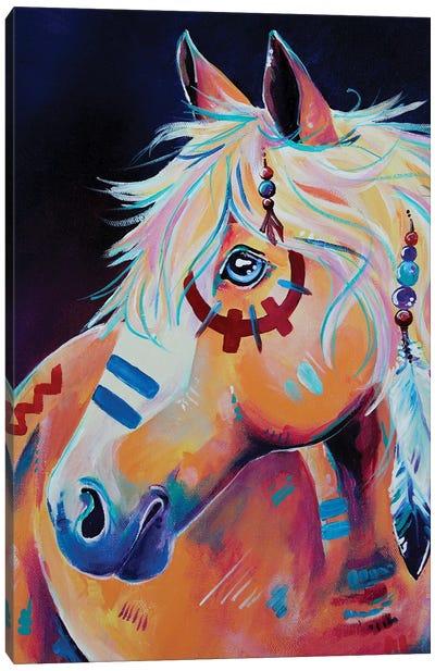Apache Canvas Art Print