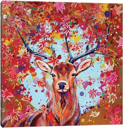 Autumn Herald Canvas Art Print