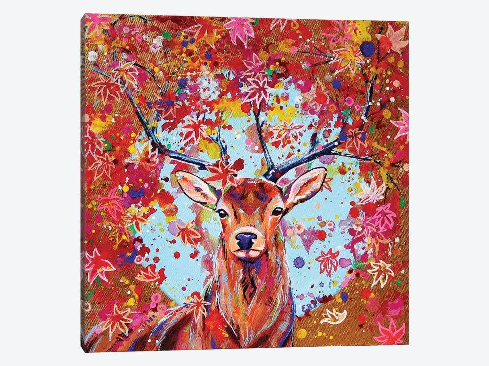 Autumn Herald by Eve Izzett 1-piece Canvas Art Print