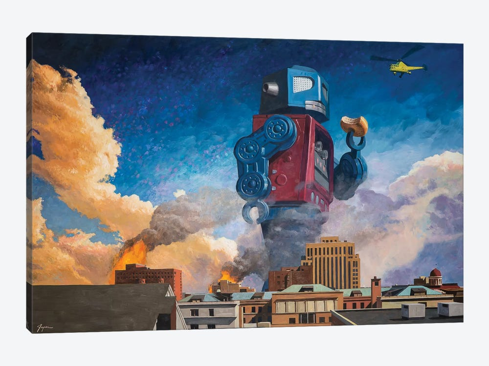 Lunchtime by Eric Joyner 1-piece Canvas Wall Art