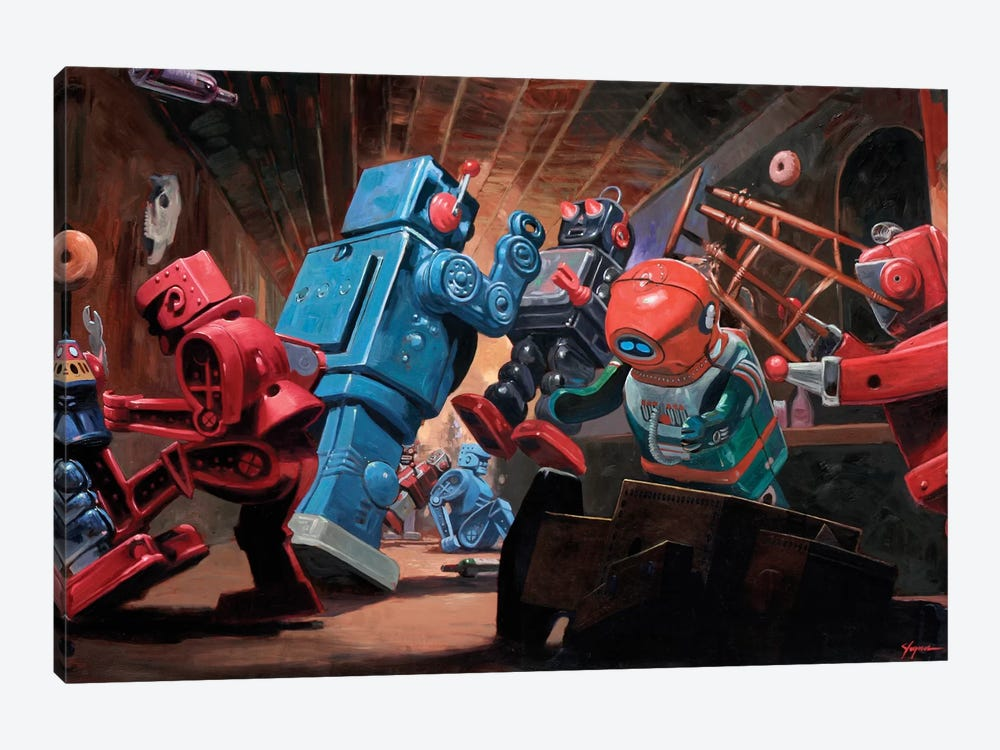 Malfunction Mute by Eric Joyner 1-piece Canvas Print