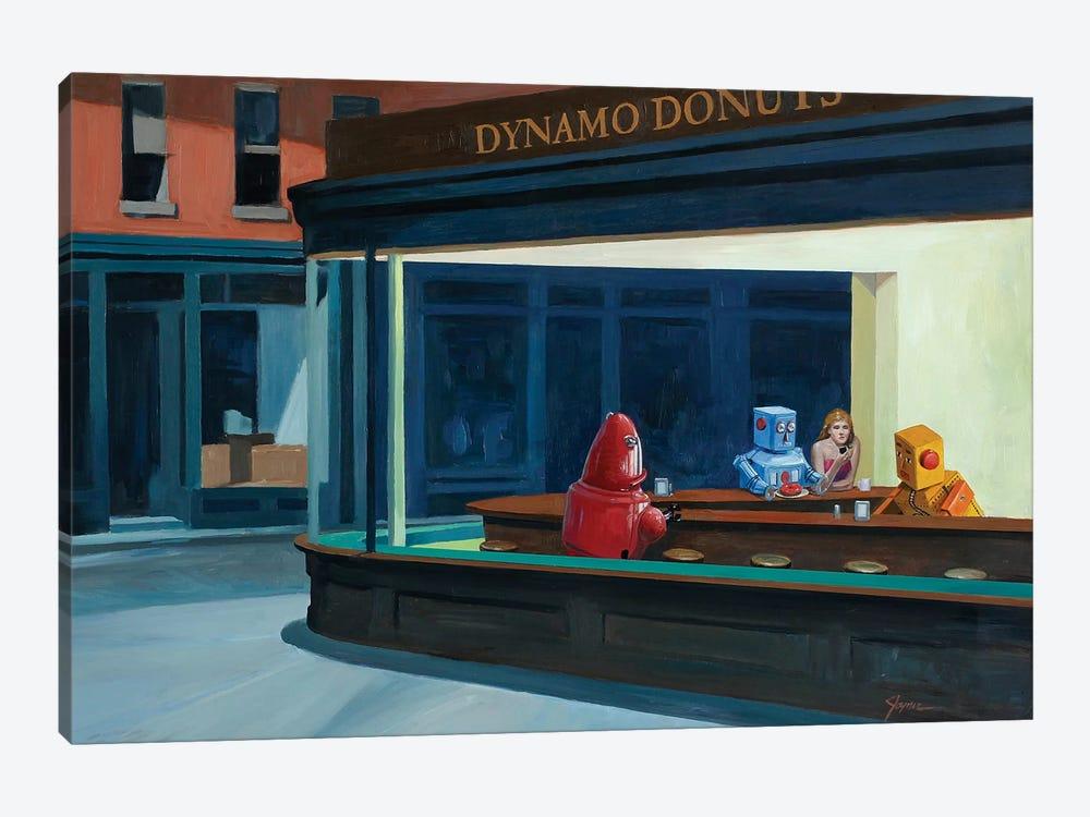 Robo Hawks by Eric Joyner 1-piece Canvas Art