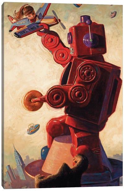 Robo Kong Canvas Print #EJR17