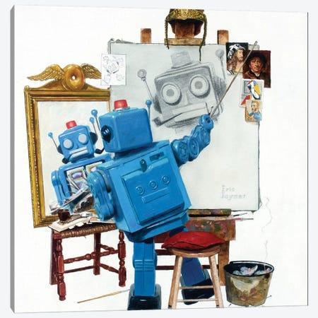 Selfie Canvas Print #EJR20} by Eric Joyner Canvas Print