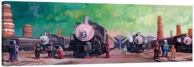 Trainyard Canvas Art Print