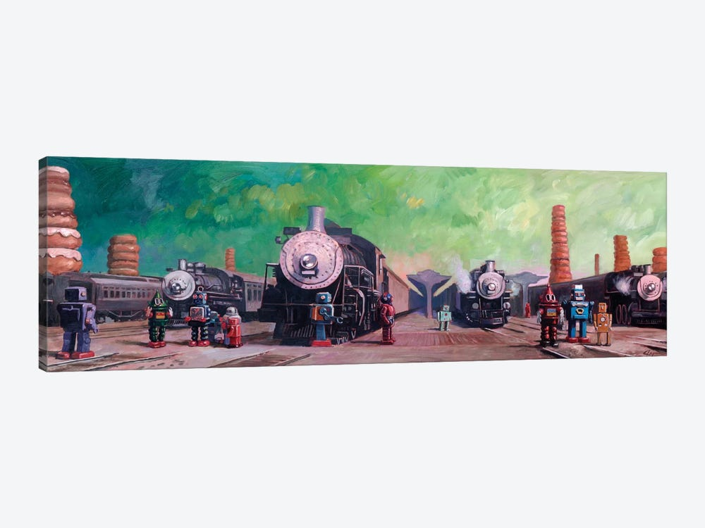 Trainyard by Eric Joyner 1-piece Canvas Print