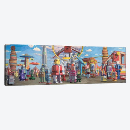 Fairgrounds Canvas Print #EJR26} by Eric Joyner Canvas Artwork