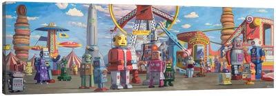 Fairgrounds Canvas Art Print