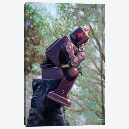 Collator Canvas Print #EJR3} by Eric Joyner Canvas Wall Art