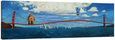 Golden Gaters Canvas Print #EJR6