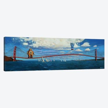 Golden Gaters Canvas Print #EJR6} by Eric Joyner Canvas Art Print