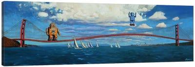 Golden Gaters Canvas Art Print