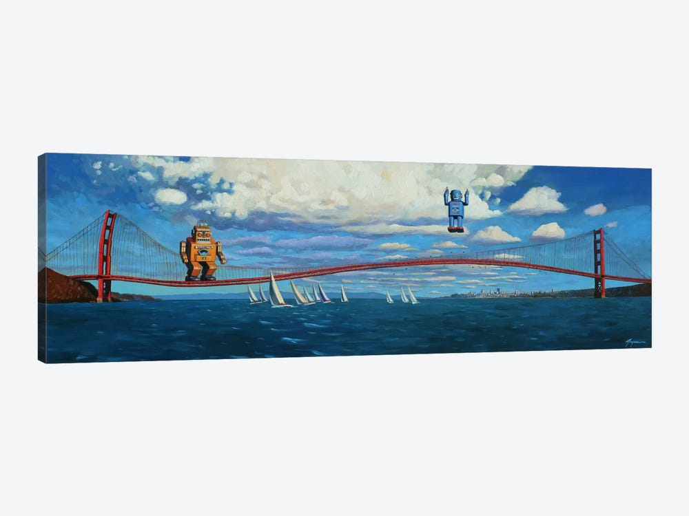 Golden Gaters by Eric Joyner 1-piece Art Print